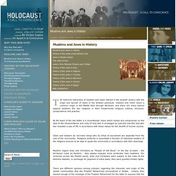 Holocaust | Muslims and Jews in History