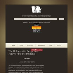 Holocaust Teacher Resource Center