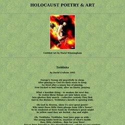 Holocaust Poetry and Art