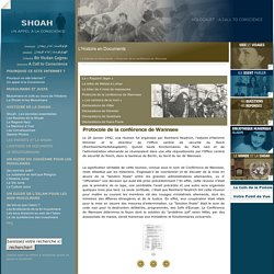 Protocole de la conférence de Wannsee