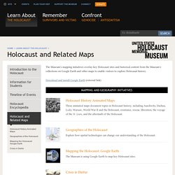 Holocaust and Related Maps — United States Holocaust Memorial Museum