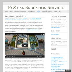 F/Xual Education Services