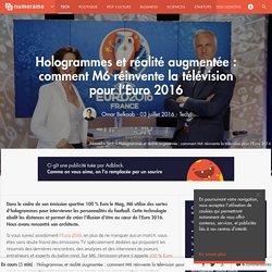 Hologrammes et réalité augmentée : comment M6 réinvente la télévision pour l'Euro 2016 - Tech
