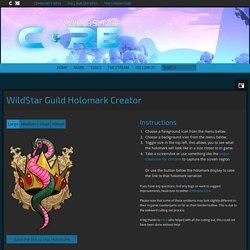 Guild Holomark Creator