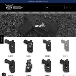 Best Glock Holsters and Accessories by We The People Holsters