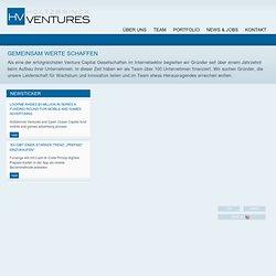Holtzbrinck Ventures