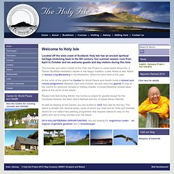 Holy Isle Project ::
