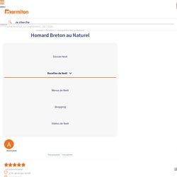 Homard Breton au Naturel : Recette de Homard Breton au Naturel