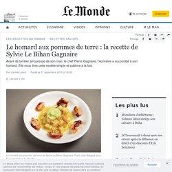 Le homard aux pommes de terre: la recette de Sylvie Le Bihan Gagnaire