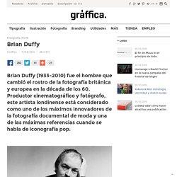 Brian Duffy - el hombre que cambió el rostro de la fotografía