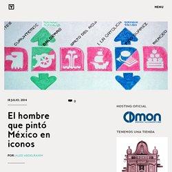 El hombre que pintó México en iconos
