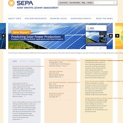 Solar Electric Power Association (SEPA) Website