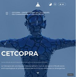CETCOPRA - Centre d'Etudes des Techniques, des Connaissances et des Pratiques