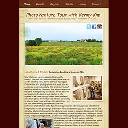 PhotoVenture with Kenny Kim & Friends