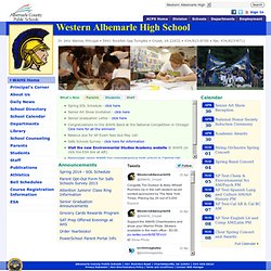Western Albemarle High School - Western Albemarle High School