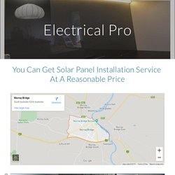 You Can Get Solar Panel Installation Service At A Reasonable Price