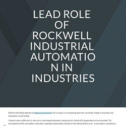 Industry 4.0 solution provider
