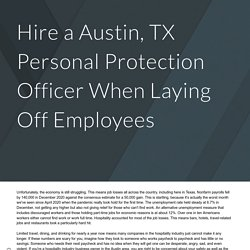 Austin, TX personal protection officer