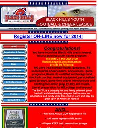 Home - Black Hills Youth Football League