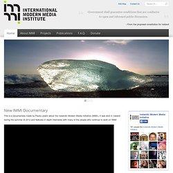 IMMI Icelandic Modern Media Initiative