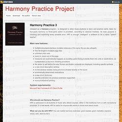 Harmony practice 3