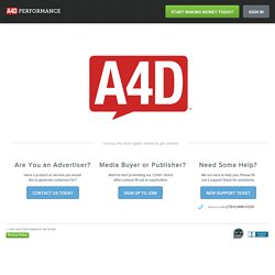 Affiliate Network - Ads4Dough.com
