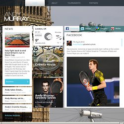 Andy Murray (andymurray.com) | The Official Andy Murray Website