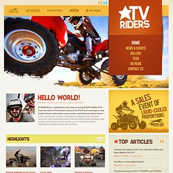 Home | atv riders