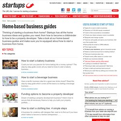 Home-based business guides