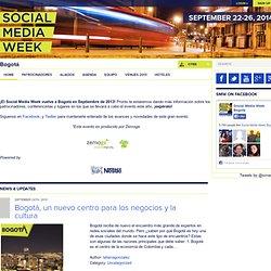 Bogotá ‹ Social Media Week