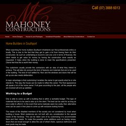 Mahoney Constructions - The Best Home Builders in Southport