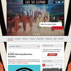 Cage the Elephant – The Official Cage the Elephant website