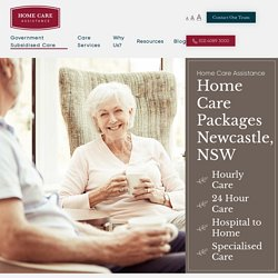 In Home Care Packages Newcastle