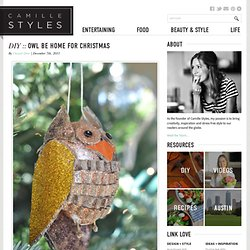 DIY :: Owl Be Home for Christmas