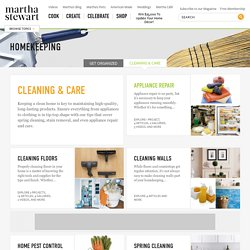 Home Cleaning & Care