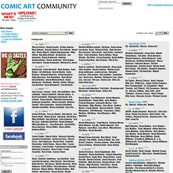 Comic Art Community GALLERY OF COMIC ART