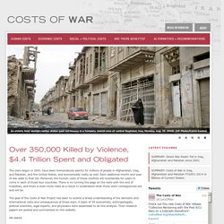 Home | Costs of War