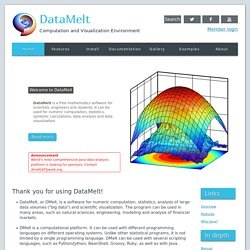 DataMelt
