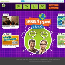 PBS Kids DESIGN SQUAD Global