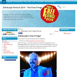 Home | Edinburgh Fringe 2011 - The Free Fringe