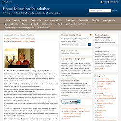 Home Education Foundation