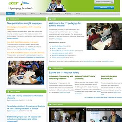 ePortfolio - Acer-EUN's Educational Netbook Pilot