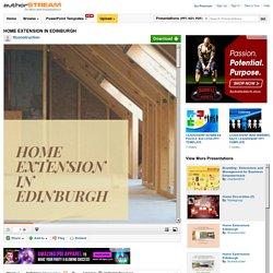 HOME EXTENSION IN EDINBURGH- TT CONSTRUCTION