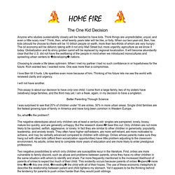 Home Fire #4 - The One Kid Decision