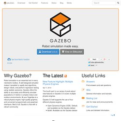 Downloads - Gazebo