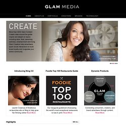 Glam Media . The Pioneer of Vertical Media