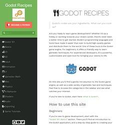 Godot Recipes