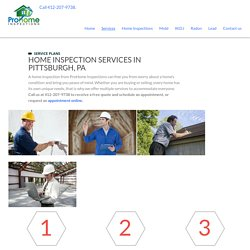 Home Inspector in Pittsburgh, PA