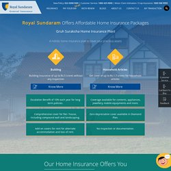 Home Insurance: Property Insurance for your home