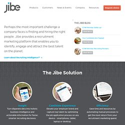 Find jobs based on your social connections | JIBE